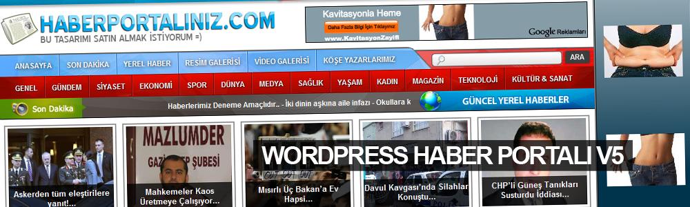 MB Tasarım WordPress Haber Portalı V5 Daha Şık ve Sade Görünümüyle Hizmetinizde..