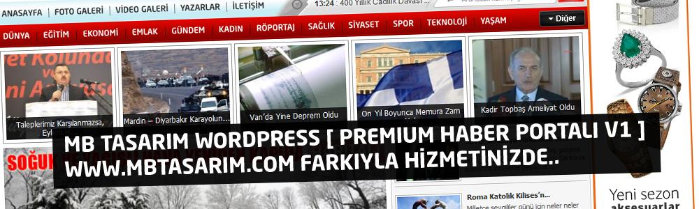 MB TasarıM WordPress [ Premium Haber Portalı v1 ] www.mbtasarim.com Farkıyla Hizmetinizde..
