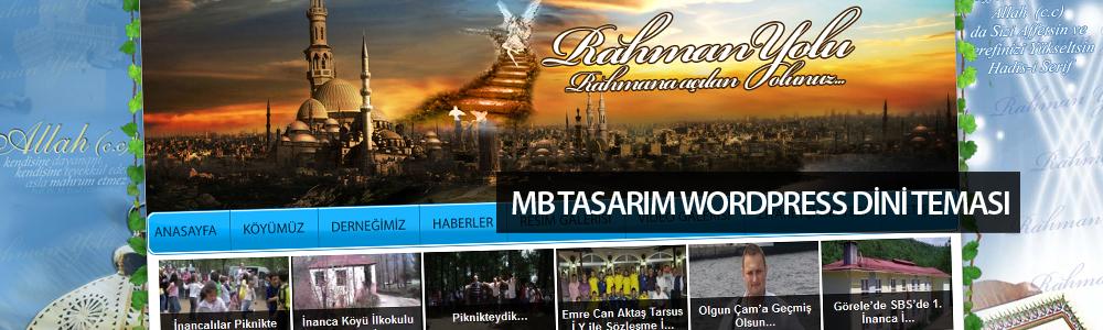 MB Tasarımdan Dini WordPress Teması