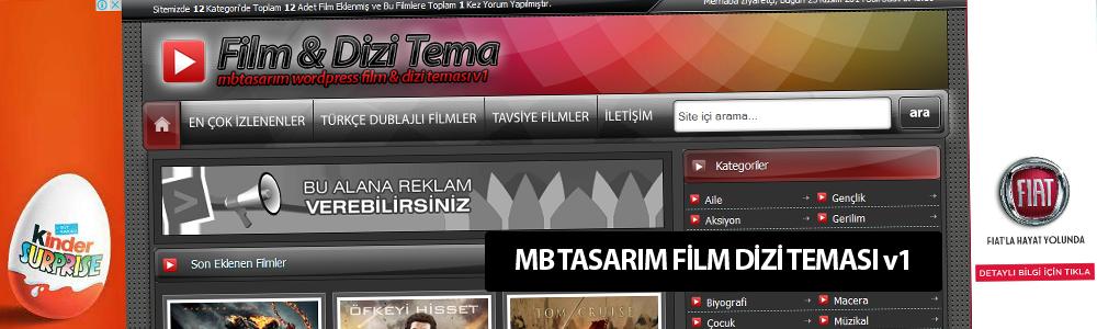 MB Tasarım WordPress Film & Dizi Teması v1 – www.mbtasarim.com