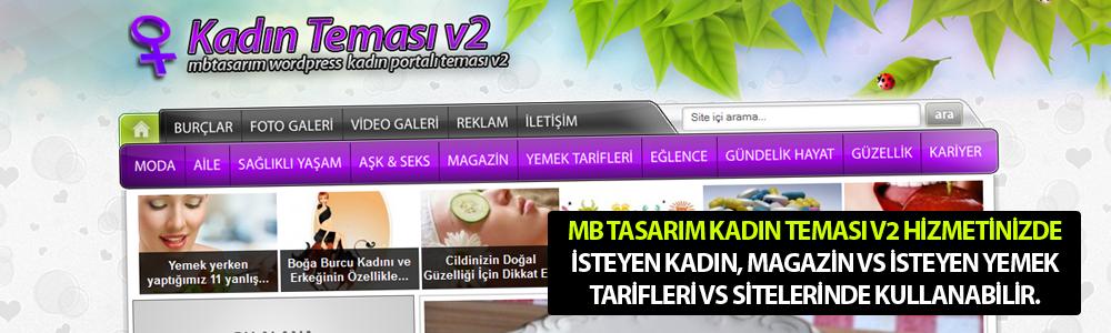MB Tasarım Kadın Teması v2 Hizmetinizde.. www.mbtasarim.com